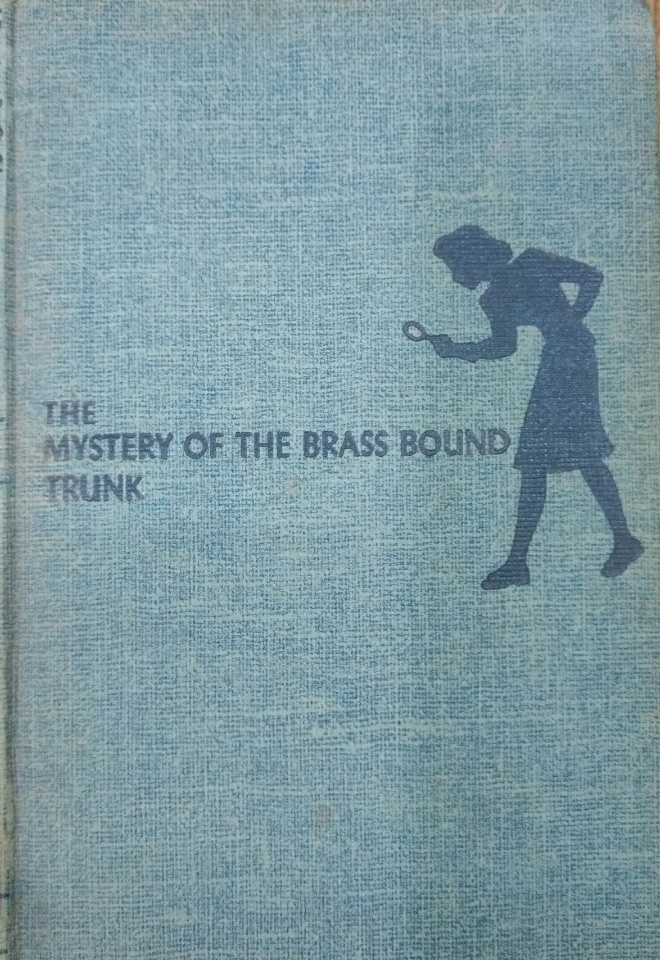 . THE  MYSTERY OF THE  BRASS BOUND TRUNK .